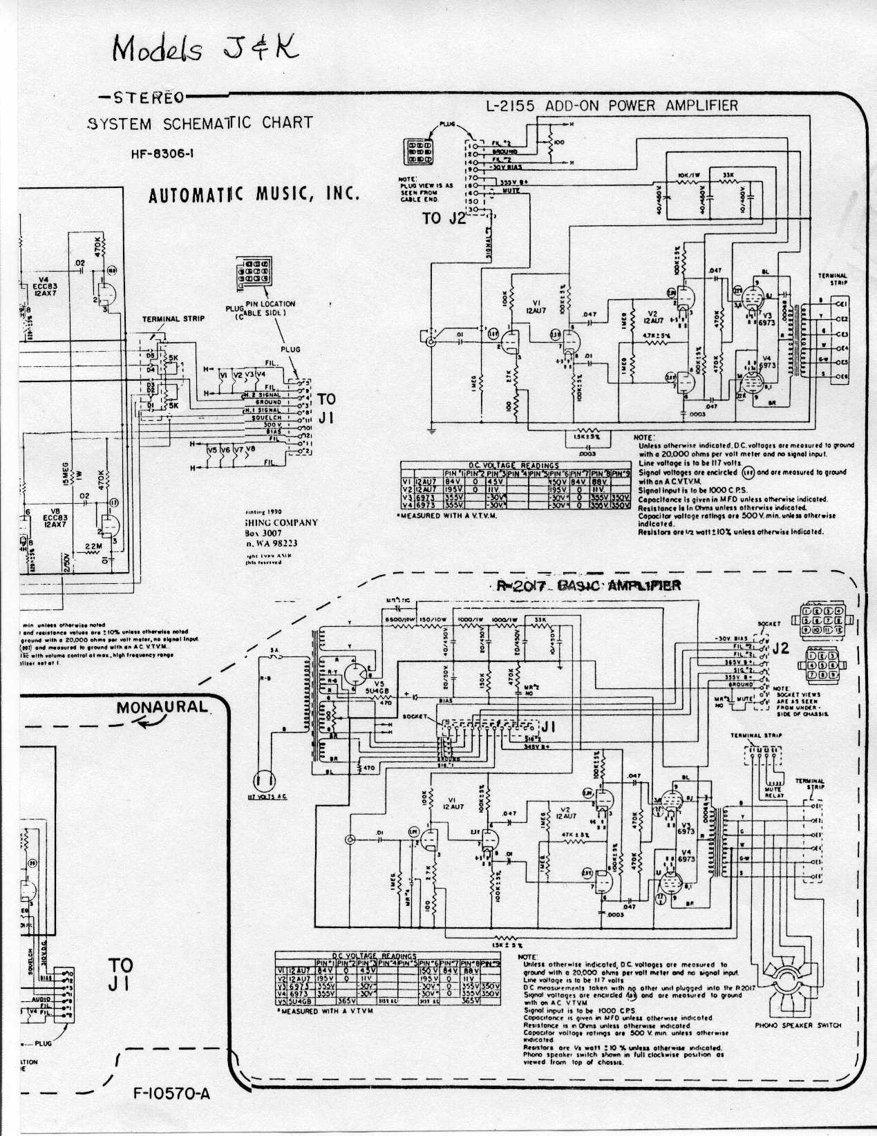 Schema Elettrico Jukebox Seeburg : Verntisdale